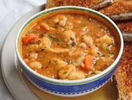 суп з цвітної капусти з куркою рецепт