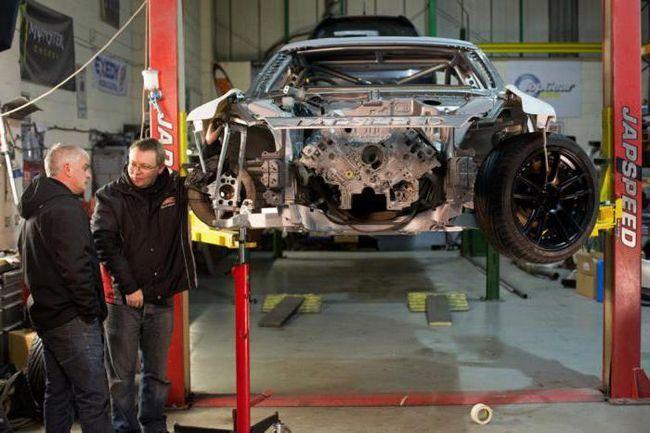 підготовка автомобіля для дріфту