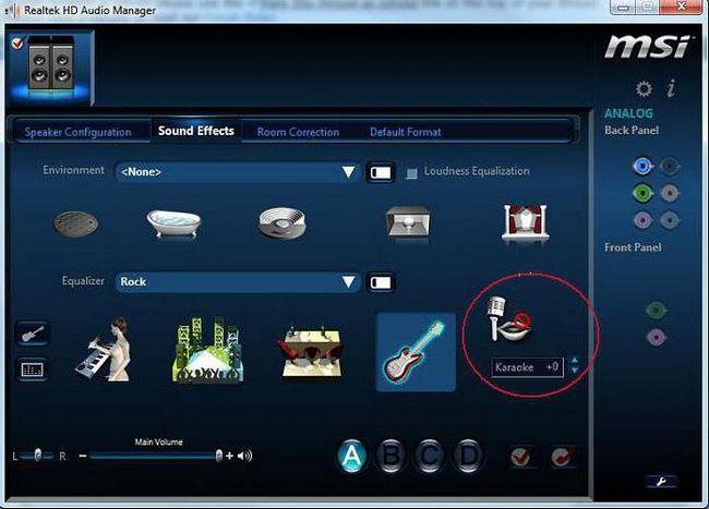 Як підключити мікрофон до комп'ютера Windows 7 караоке