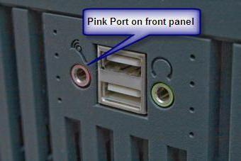 Як підключити мікрофон до комп'ютера Windows 7 на передній панелі
