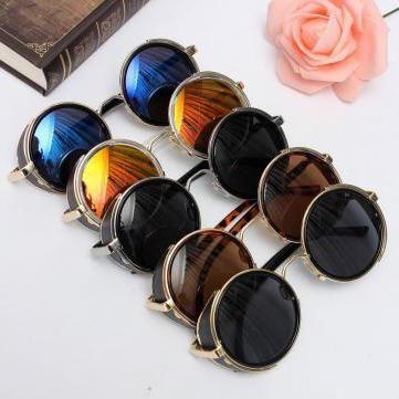 сонячні окуляри круглі чоловічі
