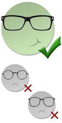 сонячні окуляри для круглого обличчя