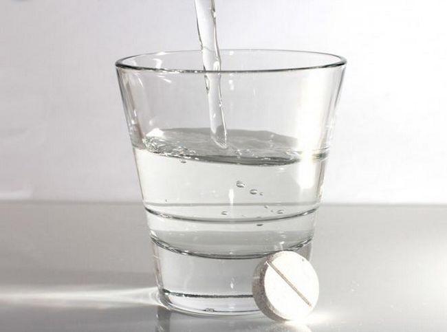 аспірин при похміллі