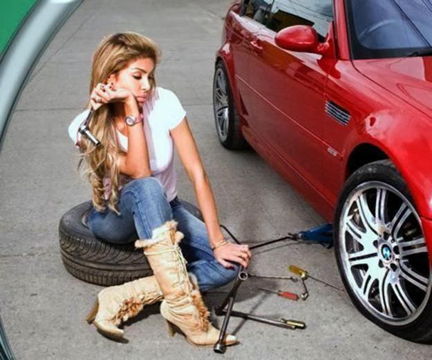 як відкрутити колесо у машини