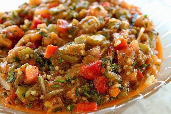 смачні і корисні заготовки баклажани по вірменськи на зиму