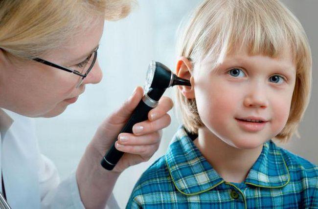 як продувати вуха при отиті