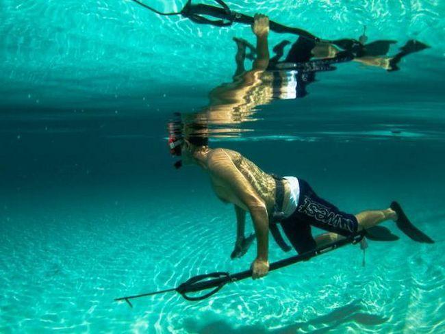 пневматична підводну рушницю своїми руками для полювання