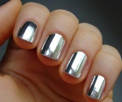 дзеркальний блиск для нігтів