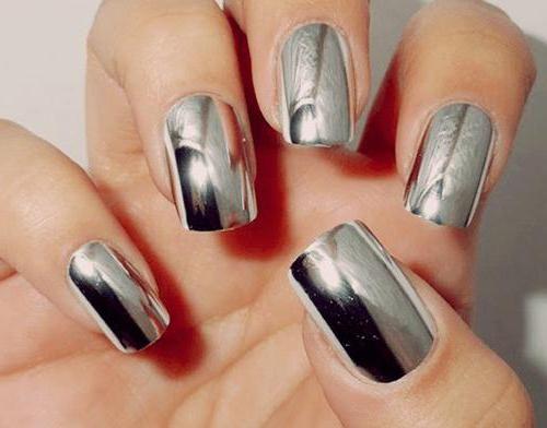 як красиво зробити дзеркальні нігті в домашніх умовах