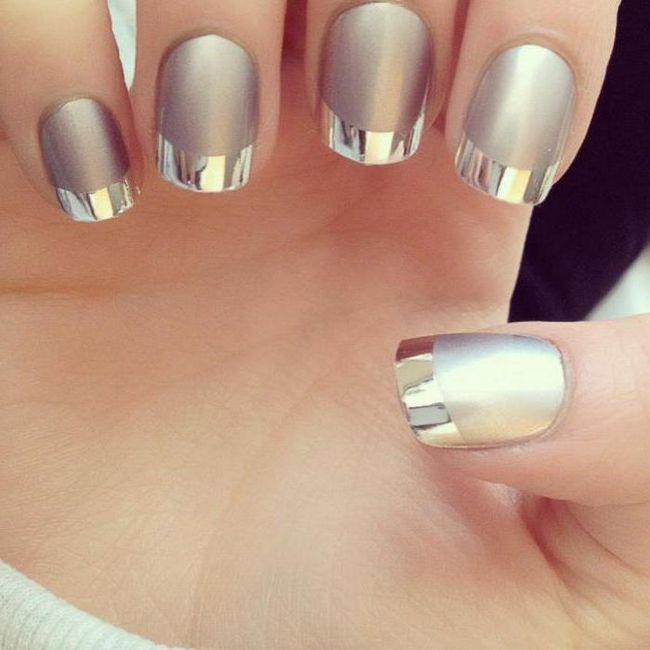 як красиво зробити дзеркальні нігті вдома