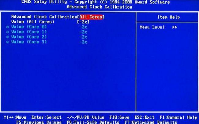 як включити 4 ядра на windows 7
