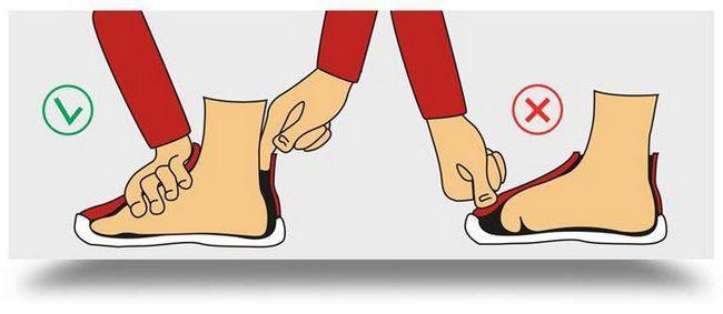 приблизний розмір взуття у дітей за віком