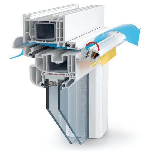 Припливне вентиляційний клапан на пластикові вікна відгуки