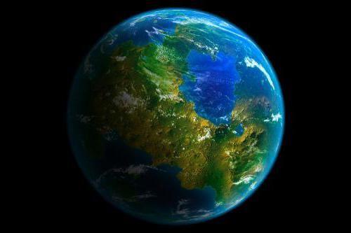 планета схожа на землю
