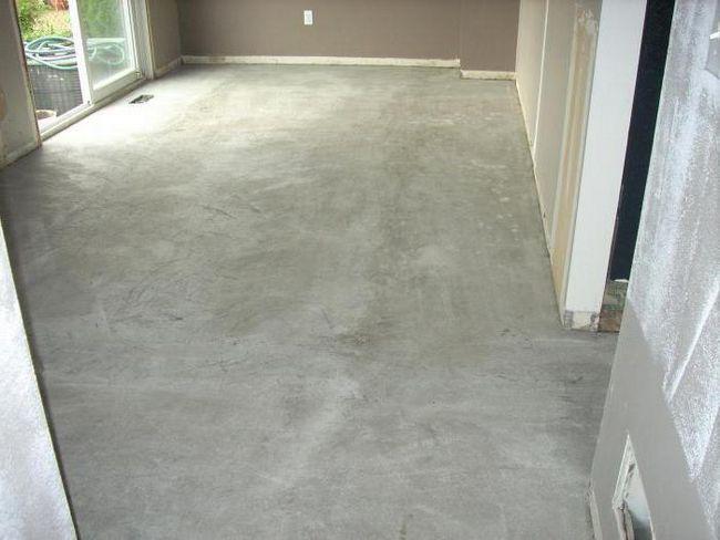 яка стяжка підлоги краще в новобудові