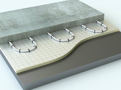 яка стяжка краще для теплої водяної підлоги