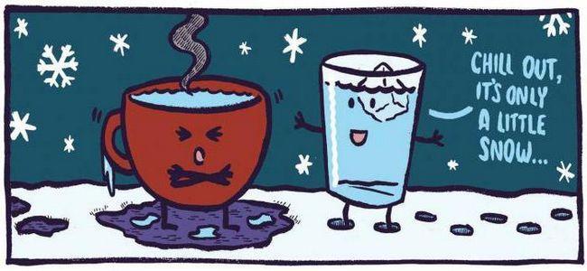 яка вода швидше замерзає гаряча або холодна