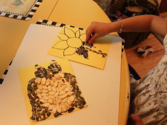 робимо своїми руками вироби з гарбузового насіння своїми руками про осінь
