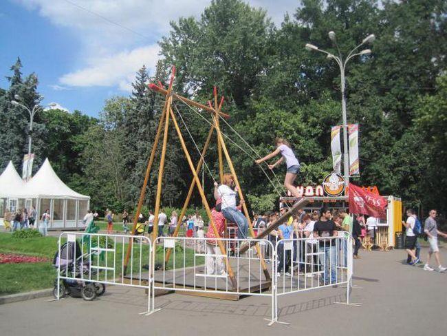 атракціони в москві сокольники