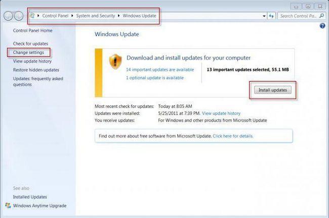 які оновлення не можна встановлювати windows 7 x64