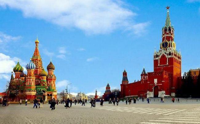 розмір червоній площі в москві фото