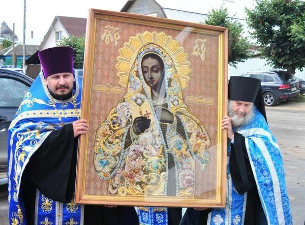 Калузька ікона Божої Матері про що моляться