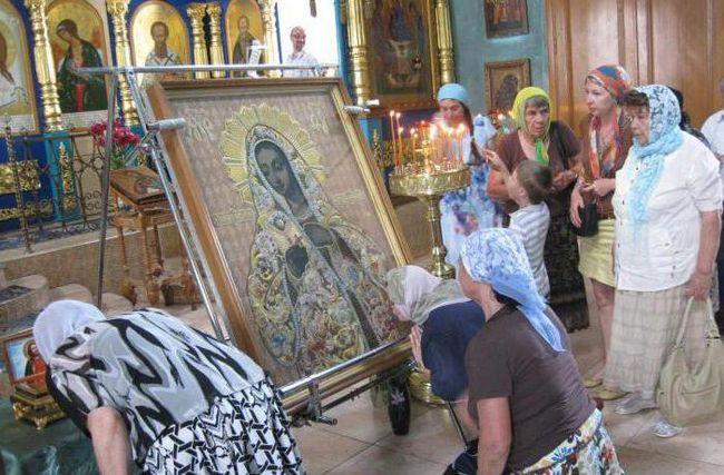 Молитва Калузької іконі Божої Матері