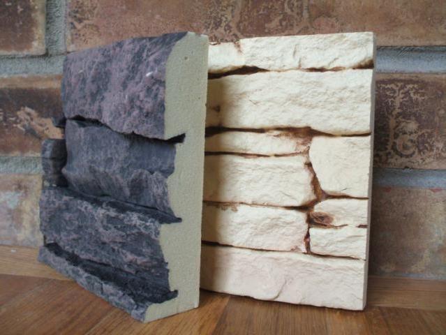 Фото - Камінь штучний в передпокої. Дизайн інтер'єра