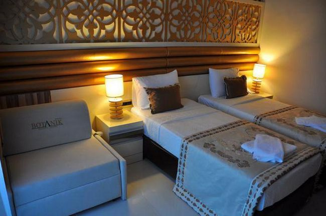kemer botanik resort hotel 4 турция кемер