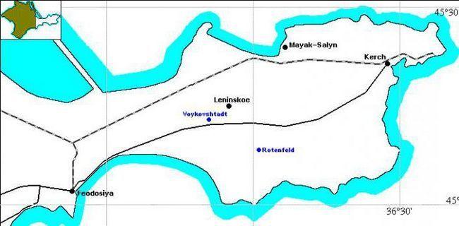 Крим Керченський півострів