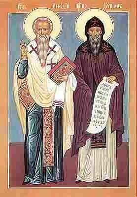 Кирило і Мефодій біографія створення слов'янської абетки