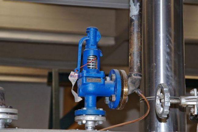 Фото - Клапан запобіжний з регулюванням тиску води