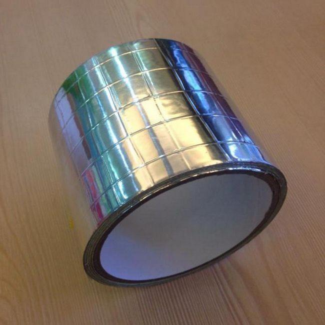 стрічка клейка алюмінієва