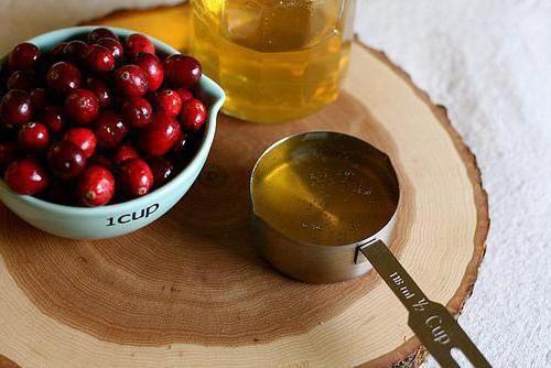 журавлина з медом на зиму рецепти