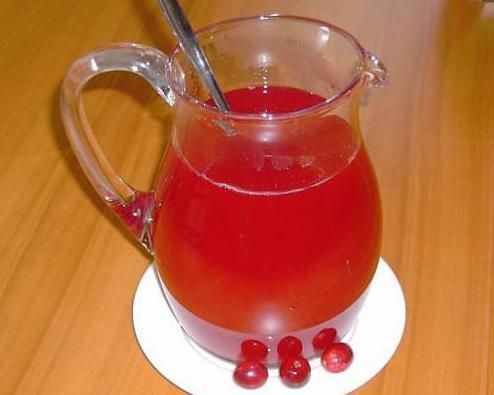 журавлина з медом і лимоном рецепт