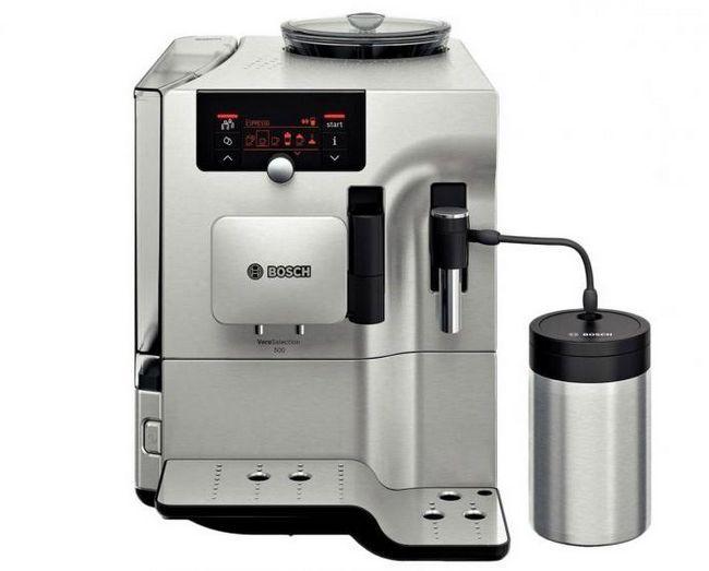 кофемашина ріжкового типу