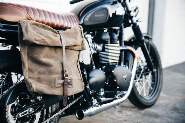 Фото - Кофр бічній для мотоцикла: як зробити