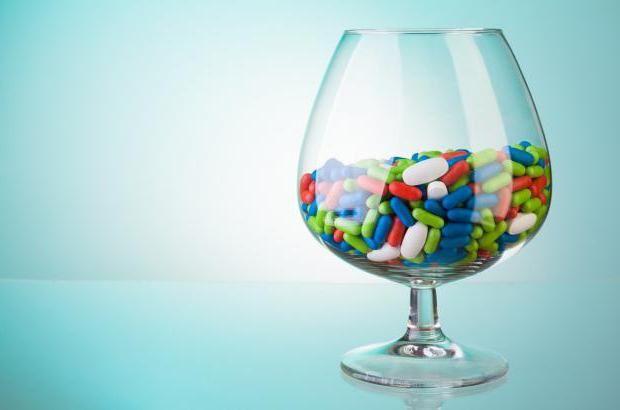 алкоголь після курсу антибіотиків