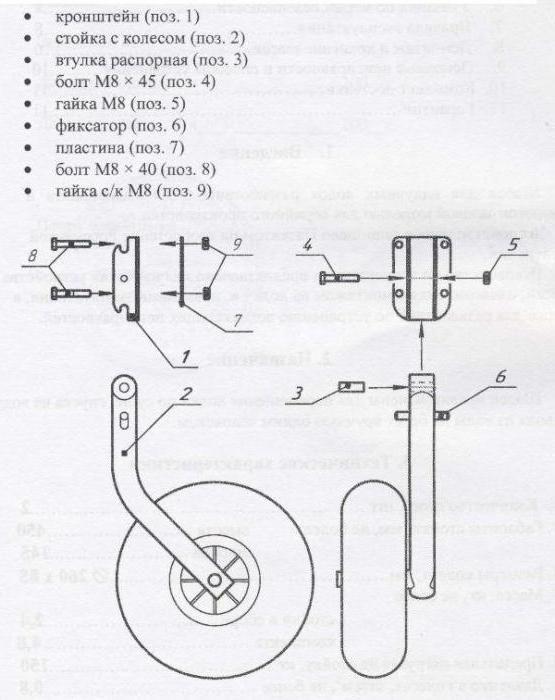 як зробити транцеві колеса для човна пвх