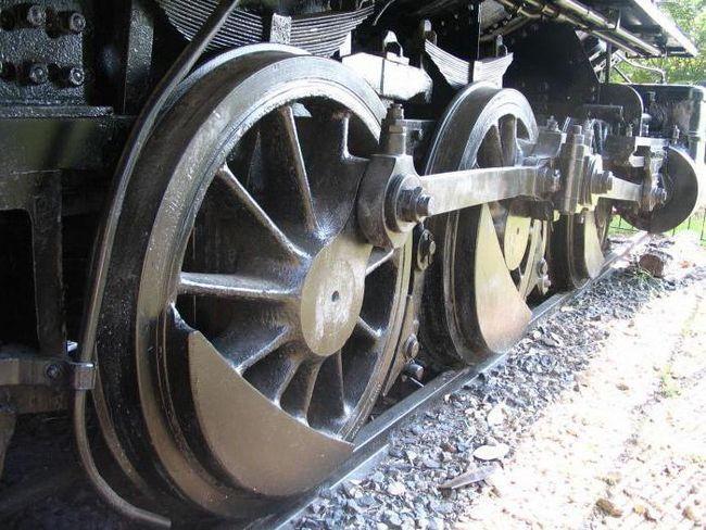 Фото - Колісні пари вагонів. Несправності колісних пар ж / д вагонів
