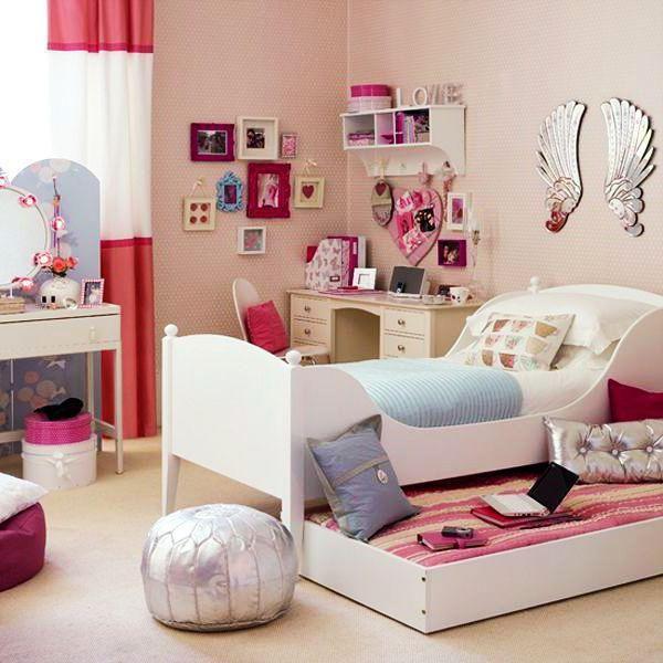 Фото - Кімната для дівчинки 12 років. Дизайн інтер'єру кімнати для дівчинки-підлітка