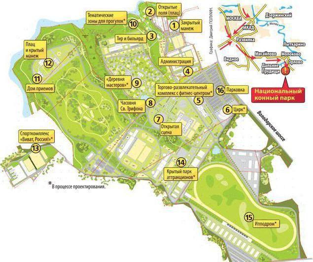 національний кінний парк русь схема проїзду