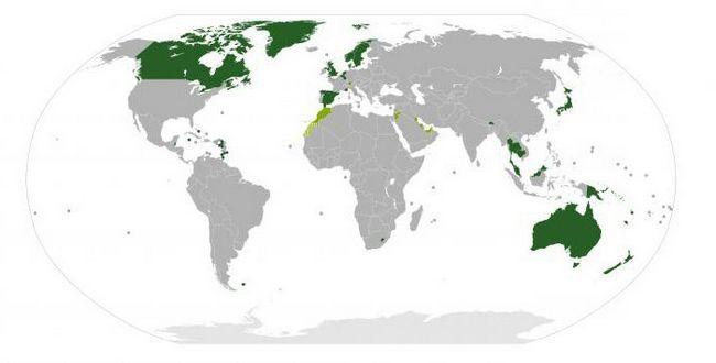 конституційні монархії світу