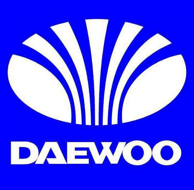 логотип автомобіля Daewoo