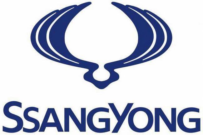 логотип автомобілів SsangYong