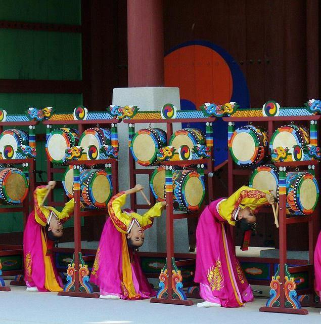 Корейські танці дівчат