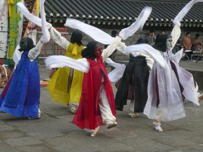 Сучасні корейські танці