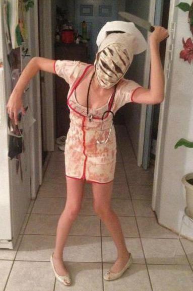 Як зробити костюм медсестри на хеллоуїн