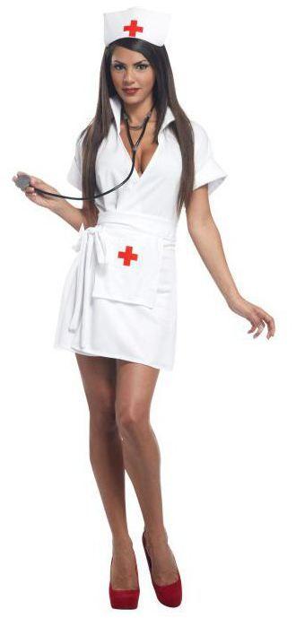 Костюм на хеллоуїн кривава медсестра