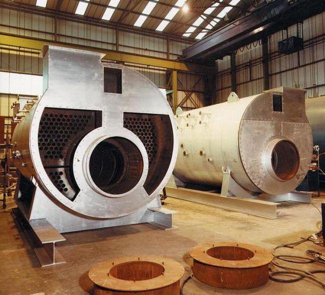 термін експлуатації промислових газових котлів